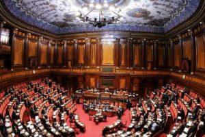 L'aula del Senato a Palazzo Madama. REUTERS/Alessandro Bianchi