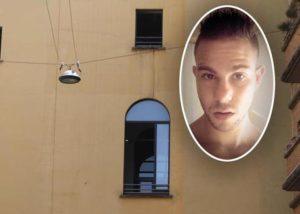 Nell'ovale: Gianluca Mereu, morto in questura