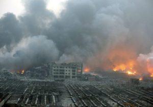 Esplosione in Cina