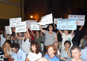 Contestazioni ministro Giannini