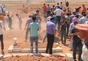 Kobane sepoltura