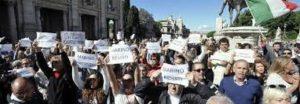Folla per Marino