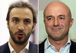 combo da sx Emiliano Fittipaldi e Gianluigi Nuzzi