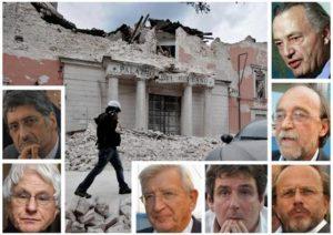 Il terremoto in Abruzzo e a L'Aquila e i componenti la Commissione Grandi Rischi