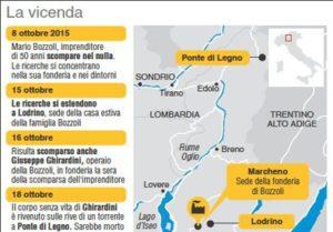 Giallo Bozzoli cartina