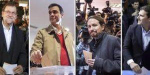 Leader partiti spagnoli