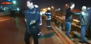 Istanbul, Turkey: 1 injured in an explosion near Bayrampasa (FRAME)