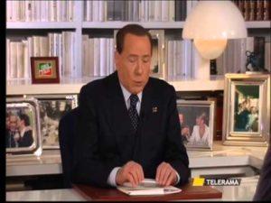Berlusconi a Telerama
