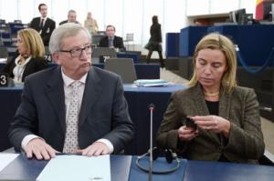 Juncker e Mogherini