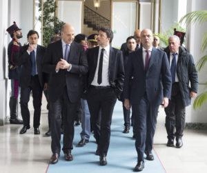 Pansa con Renzi e Alfano