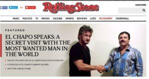 Sean Penn e El Chapo
