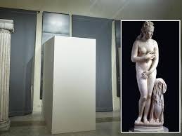 Statue coperte musei capitolini