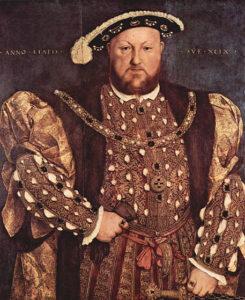 Il ritratto di Enrico VIII.La legge di successione in Gran Bretagna che impedisce a un cattolico di accedere al trono o di sposare un re o una regina dovrebbe essere abolita: lo ha detto alla Bbc il primo ministro britannico David Cameron oggi 19 aprile 2011.
