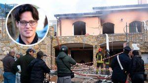Garko esplosione villa 2
