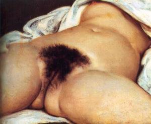 ''L'origine du monde'' di Courbet in mostra dal 19 marzo 2011 al Mart di Rovereto nell'esposizione ''La rivoluzione dello sguardo''. ANSA / UFFICIO STAMPA MART +++NO SALES - EDITORIAL USE ONLY+++