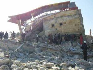 Ospedale bombardato in Siria