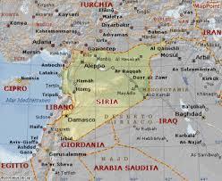Siria cartina