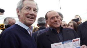 Berlusconi e Bertolaso