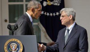 Garland e Obama