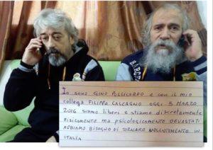 Gino Pollicardo e Filippo Calcagno