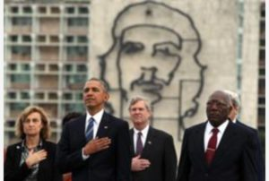 Obama e Che Guevara
