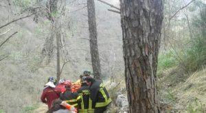 Isernia - soccorso vigili del fuoco