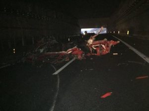 Quattro morti su A3 in uno scontro tra auto e tir