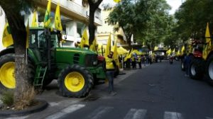 protesta produttori olio