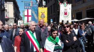 25 aprile: al via manifestazione a Milano Fabrizio Cassinelli