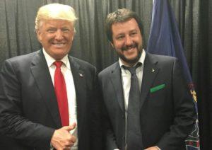 Salvini e Trump
