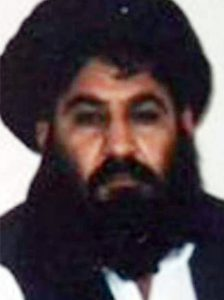An undated handout picture released on 01 August 2015 by the Taliban militants showing Mullah Muhammad Akhtar Mansoor (R), the newly appointed leader of Afghan Talibans after the death of Mullah Muhammad Omar.  ANSA /AFGHAN TALIBAN MILITANTS / HANDOUTS ATTENTION EDITORS : EPA IS USING AN IMAGE FROM AN ALTERNATIVE SOURCE AND CANNOT PROVIDE CONFIRMATION OF CONTENT, AUTHENTICITY, PLACE, DATE AND SOURCE. HANDOUT EDITORIAL USE ONLY/NO SALES
