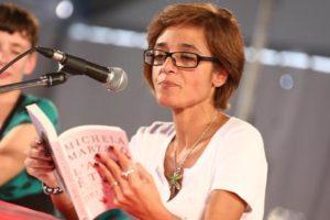 La filosofa italiana Michela Marzano durante il suo intervento al Festival Filosofia a Modena, 15 settembre 2013. ANSA/Serena Campanini- US EDITORIAL USE ONLY