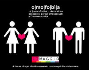 Omofobia giornata mondiale