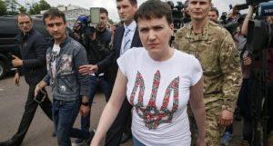 Pilota ucraina Savchenko