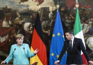 Renzi e Merkel