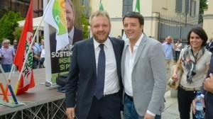 Uggetti e Renzi