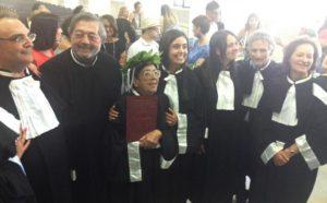 Nel Salento a 84 anni laurea magistrale