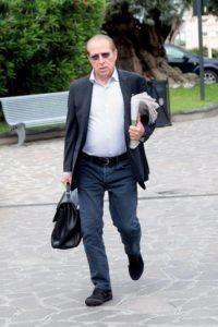 Paolo Berlusconi arriva all'ospedale San Raffaele dove è ricoverato Silvio Berlusconi, Milano, 14 giugno 2016. ANSA/MOURAD BALTI TOUATI