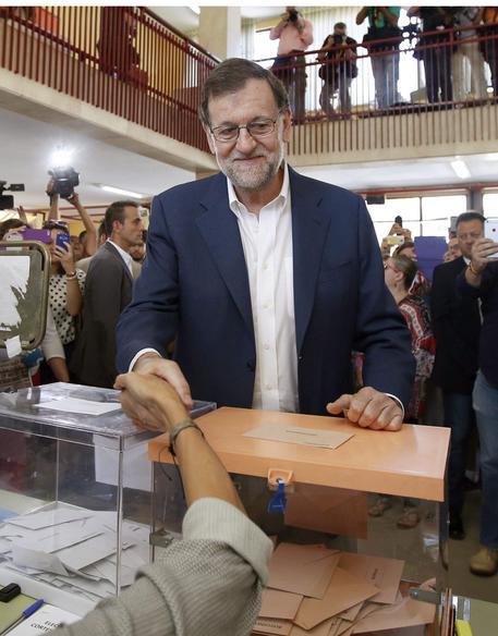 ++ Spagna: dati definitivi, Rajoy vince con il 33% ++