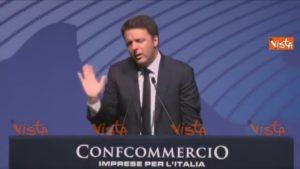 Renzi e Confcommercio