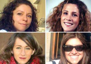 Italiane premiate da Congresso Oncologi Usa Prima fila da SX: Caterina Fontanella, Marta Schirripa. Seconda fila da SX: Carlotta Antoniotti, Emanuela Palmerini.
