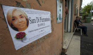 Sara Di Pietrantonio funerali