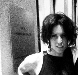 Carlotta Benusiglio in una foto tratta dal profilo Facebook Blume Blu. Roma, 2 giugno 2016. +++ ATTENZIONE L'IMMAGINE NON PUO' ESSERE PUBBLICATA O RIPRODOTTA SENZA L'AUTORIZZAZIONE DELLA FONTE DI ORIGINE CUI SI RINVIA +++