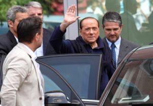 Berlusconi dopo intervento al cuore