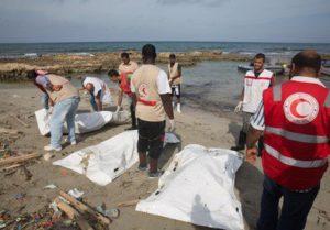 Migranti annegati in Libia