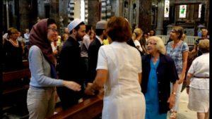 Musulmani in chiesa 2