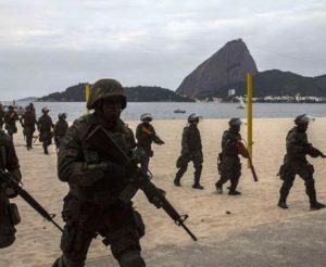 Rio de Janeiro esercitazione anti-terroismo