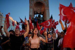 Turchia sosteniori di Erdogan