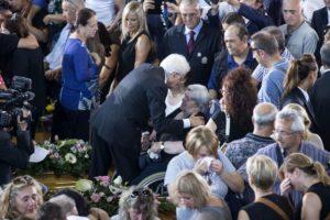 Funerali terremoto
