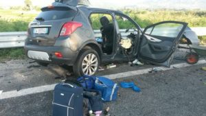Scontro auto Calabria